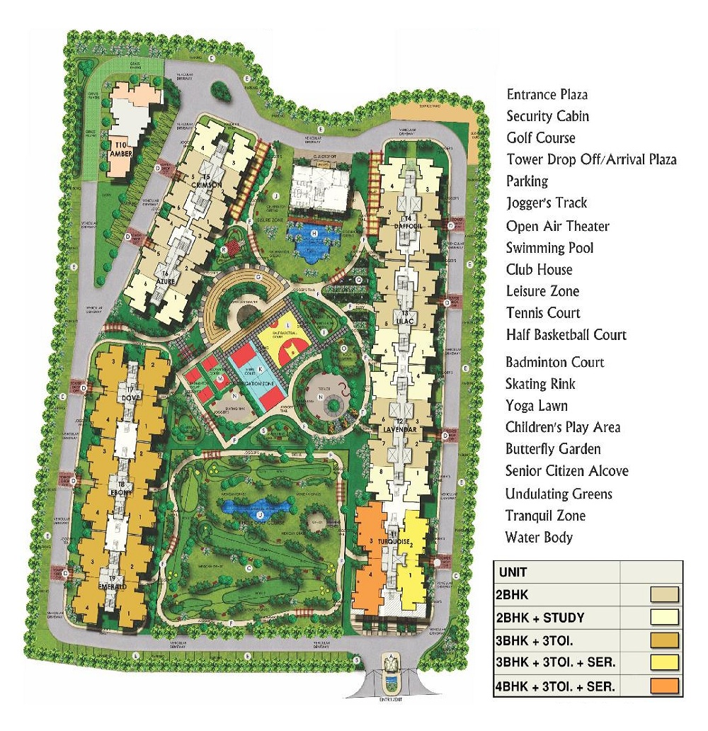 Mi Central Park Residential Project In Lucknow Area Lucknow